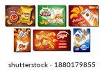 chips snack creative promo...   Shutterstock .eps vector #1880179855
