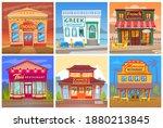 restaurant collection  indian ... | Shutterstock .eps vector #1880213845