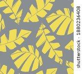 mono print style scattered... | Shutterstock .eps vector #1880236408