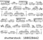 vector seamless pattern with... | Shutterstock .eps vector #188028662
