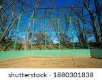 Baseball Field In A Suburban...