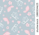 seamless pattern with... | Shutterstock .eps vector #1880334625