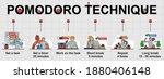 vector banner of pomodoro... | Shutterstock .eps vector #1880406148