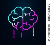 fast acting brain nolan icon....