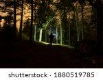 Man Walking At Night In Swedish ...