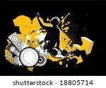 dj  music concept  vector...   Shutterstock .eps vector #18805714