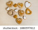 Heart Shaped Gingerbread Cookie ...