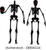illustration with silhouettes...   Shutterstock .eps vector #18806116