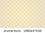 golden abstract floral seamless ... | Shutterstock .eps vector #1880647438