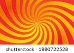 swirling burst red and yellow... | Shutterstock .eps vector #1880722528