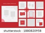 social media template banner... | Shutterstock .eps vector #1880820958