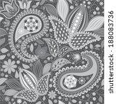 seamless ethnic pattern   Shutterstock .eps vector #188083736