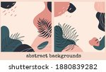 set of abstract backgrounds.... | Shutterstock .eps vector #1880839282
