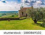 Ancient Abbey Of Rosazzo. Friuli