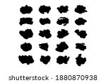 set of black brushstrokes. good ... | Shutterstock .eps vector #1880870938