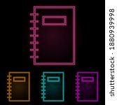 a diary color neon set. simple...