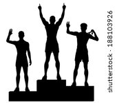 athlete,award,best,black,celebrate,ceremony,champ,champion,competition,contest,glory,illustration,male,medalist,men