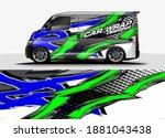 car graphic background vector.... | Shutterstock .eps vector #1881043438