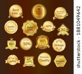 premium quality best choice top ... | Shutterstock .eps vector #1881049642