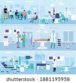 hospital healthcare medical...   Shutterstock .eps vector #1881195958