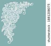 template frame  design for... | Shutterstock .eps vector #1881208075