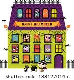 a vector illustration of super... | Shutterstock .eps vector #1881270145