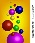 background with multicolor... | Shutterstock .eps vector #18813109