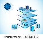 illustration of service... | Shutterstock . vector #188131112