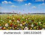 Flower Painting Wildflowers...