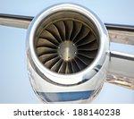 aircraft jet engine | Shutterstock . vector #188140238