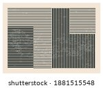 trendy abstract creative... | Shutterstock .eps vector #1881515548