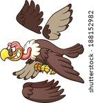 cartoon vulture ready for... | Shutterstock .eps vector #188152982