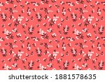 elegant pattern in small... | Shutterstock .eps vector #1881578635