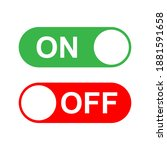 on off button icon. for web...