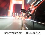 car on the road with motion... | Shutterstock . vector #188160785