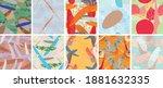 abstract vector seamless...   Shutterstock .eps vector #1881632335