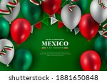 mexico constitution day with... | Shutterstock . vector #1881650848