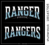 Collection Of Two Ranger...
