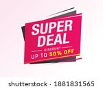 sale and special offer tag ... | Shutterstock .eps vector #1881831565
