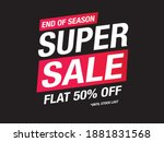sale and special offer tag ... | Shutterstock .eps vector #1881831568