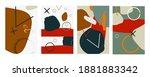 trendy abstract vector...   Shutterstock .eps vector #1881883342