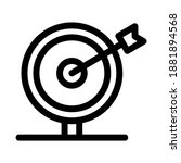 target icon or logo isolated...   Shutterstock .eps vector #1881894568