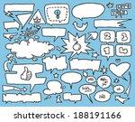 Comic Style Speech Bubbles....