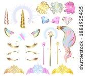 set of design elements for a...   Shutterstock .eps vector #1881925435