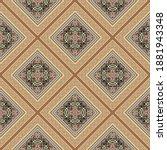 arabesque seamless pattern....   Shutterstock .eps vector #1881943348
