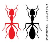 ant icon. ant illustration for...