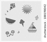 summer | Shutterstock . vector #188198042