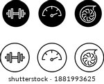 set of icons symbolising... | Shutterstock .eps vector #1881993625