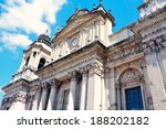 cathedral in the center of...   Shutterstock . vector #188202182
