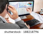 analysing  financial data and... | Shutterstock . vector #188218796